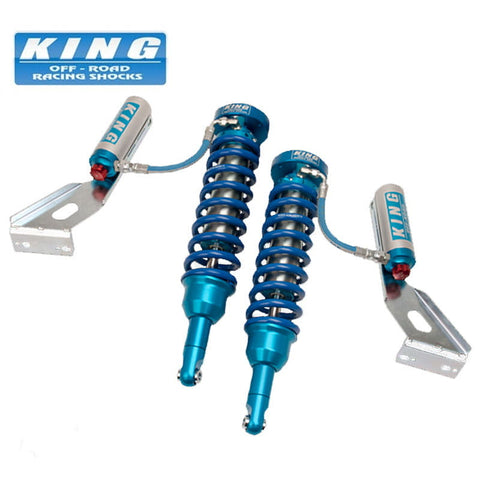 KING SHOCKS FOR 2005 - 2020 TOYOTA TACOMA 2WD PRE-RUNNER/4WD EXTENDED TRAVEL FRONT KIT WITH COMPRESSION ADJUSTER 25001-119A-EXT 650LB
