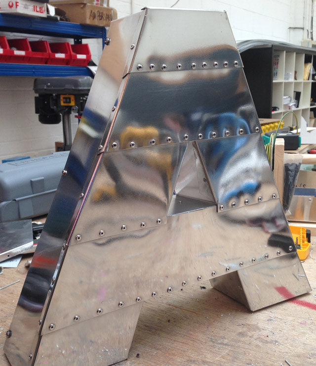 Airstream Aluminum/Riveted letters