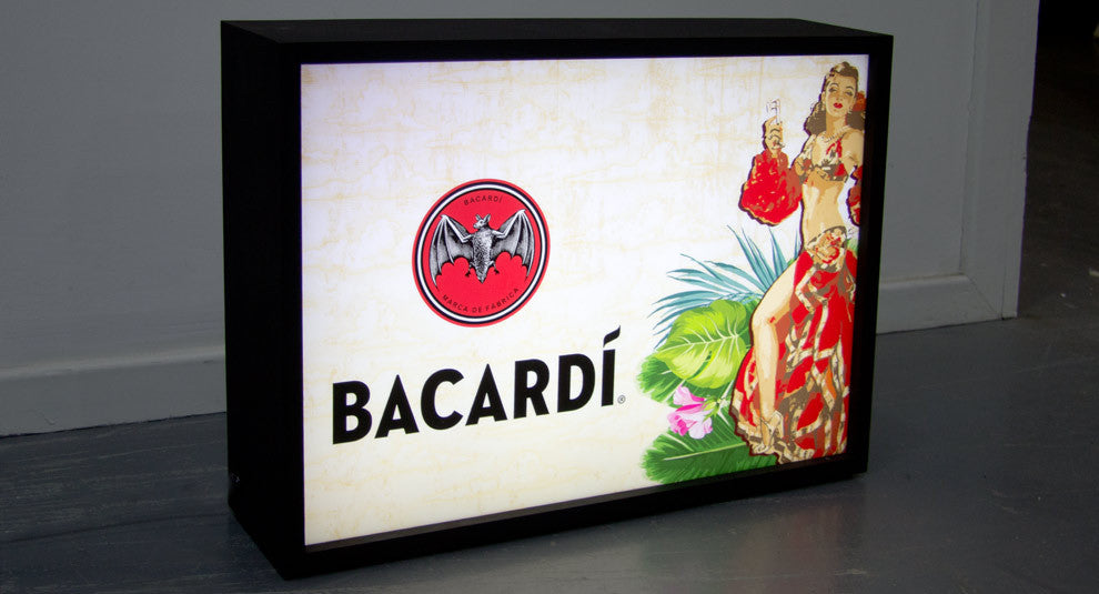 Bacardi Light Box