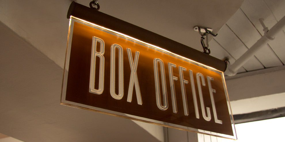 Box Office Hanging Sign