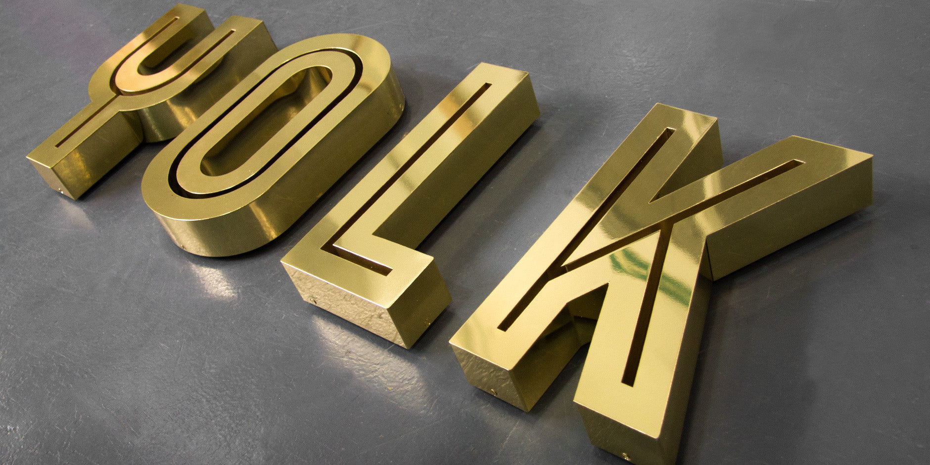 Steel Letters For Sale Metal 3D Letters  3D Sign Makers  Goodwin & Goodwin™  London