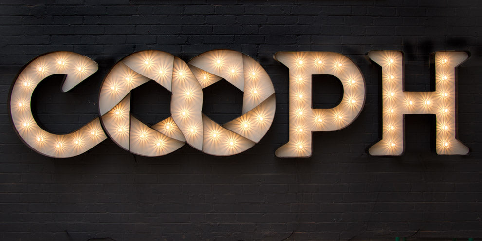 Cooph photography Sign