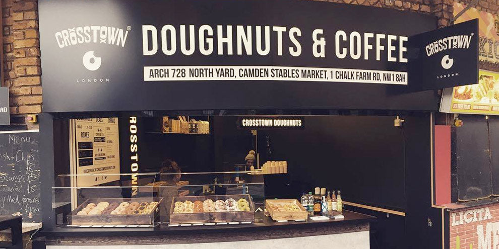 Cross Town Doughnuts Shop Facia