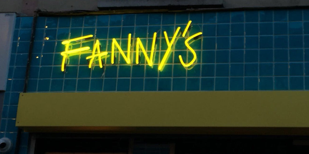 Fanny's Kebabs Neon Sign