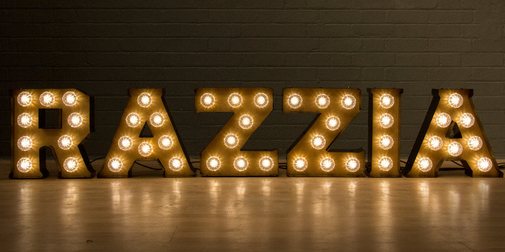 Light Up Marquee Letters UK