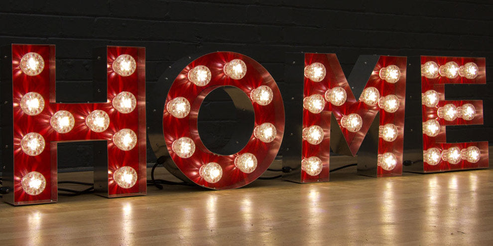 Marquee Light Up Letters