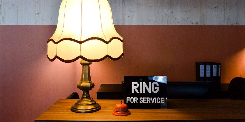 Hotel Ring for Service Sign