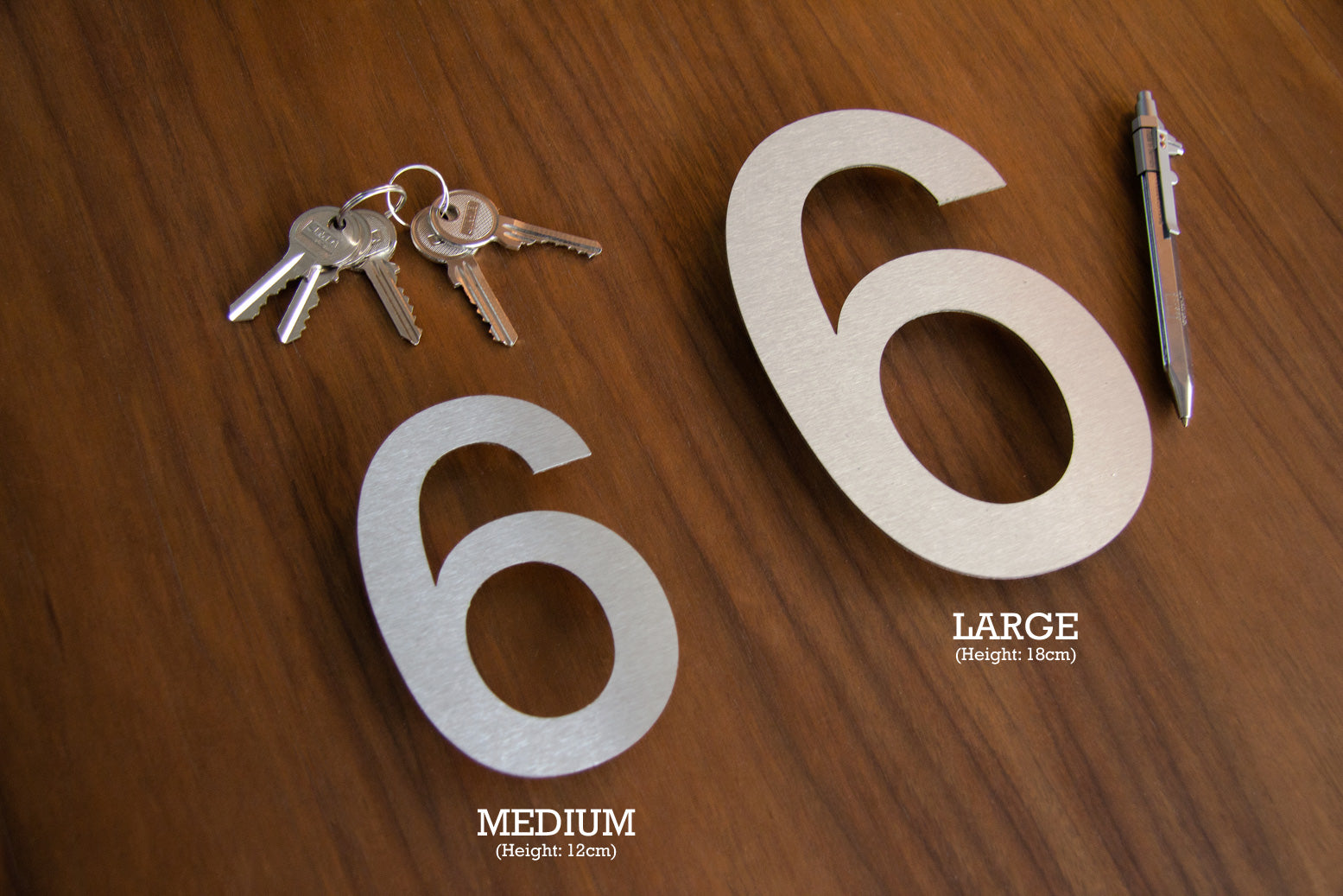 House Number Size Guide