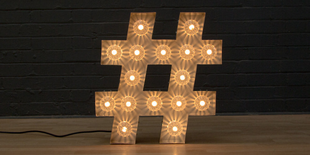 light up hashtag #