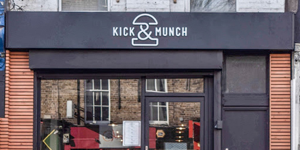 Kick and Munch Sign