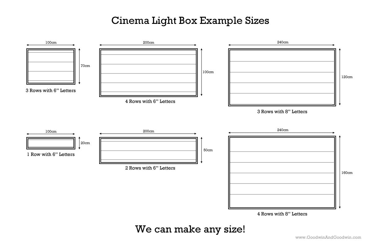 Cinema Light Boxes