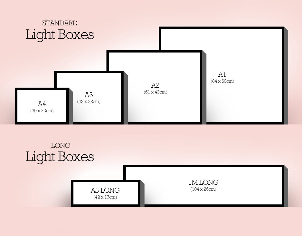Light Box Sizes