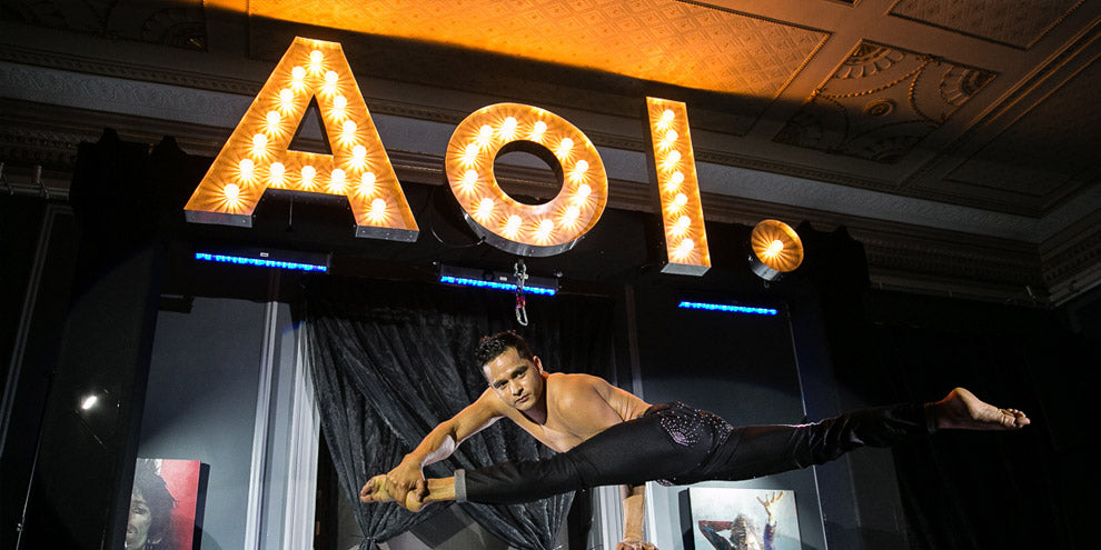 light up letters for Aol