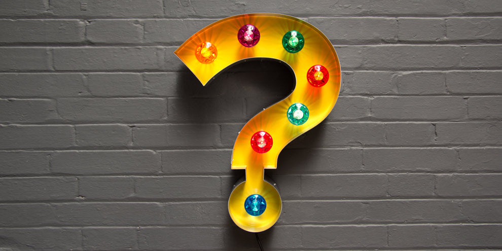 light up question mark