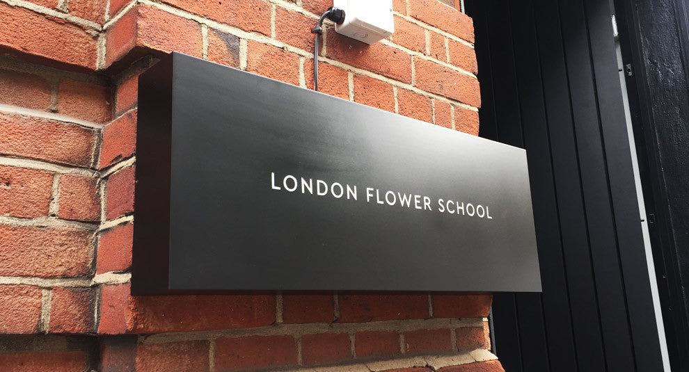 London Flower School light box
