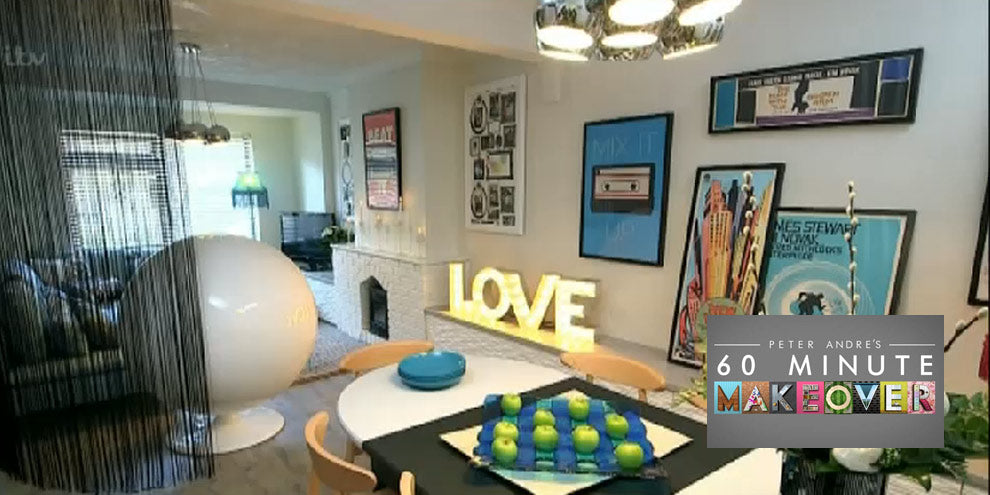 Love Sign 60 Minute Makeover