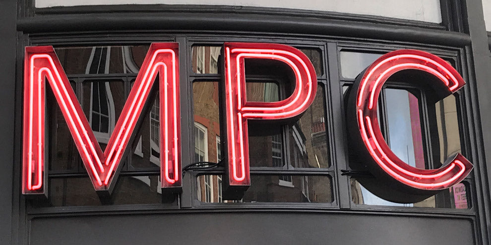 MPC Neon Letters