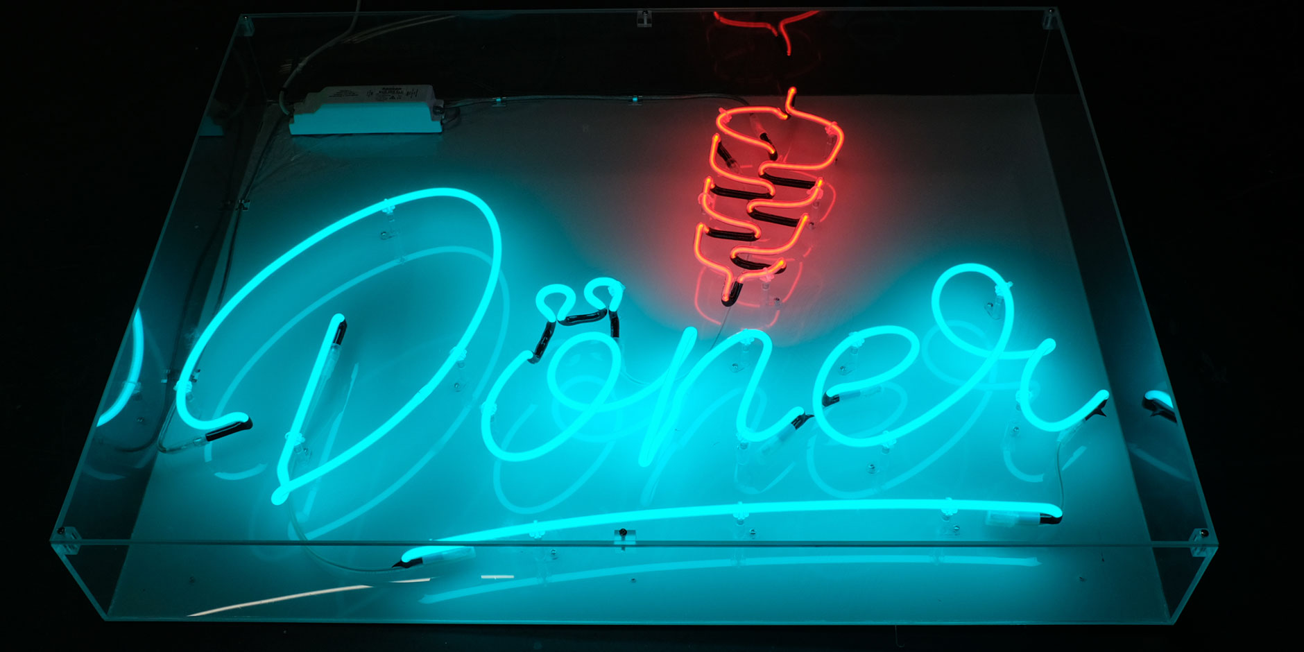 Neon Doner Sign