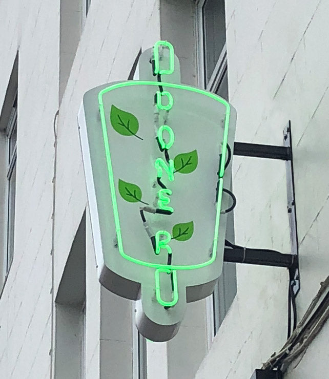Neon Doner Sign london