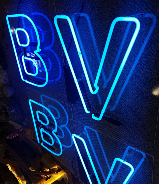 Double Outline Neon Sign