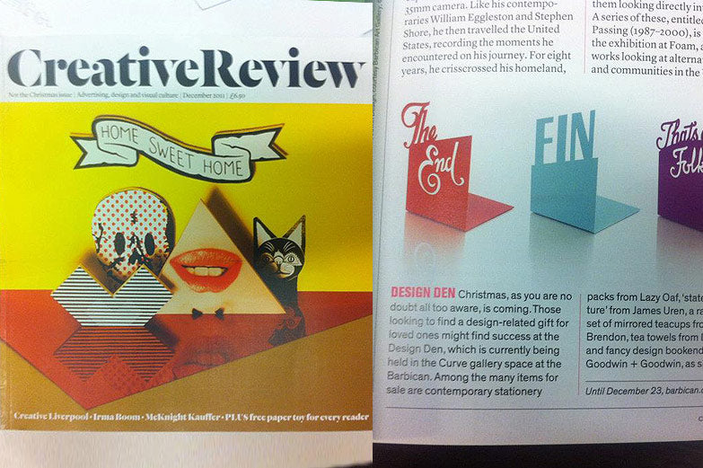Creative Review Bookends