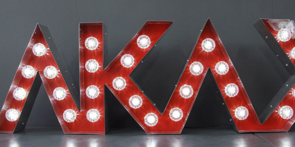 Red Light Letters