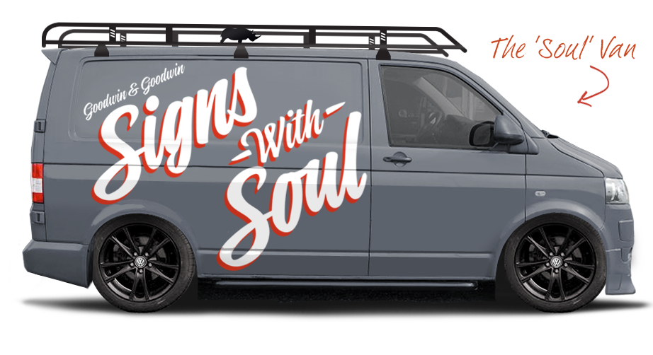 Sign Company Van