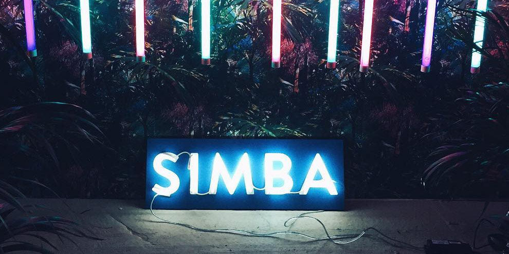 Neon Sign for Simba