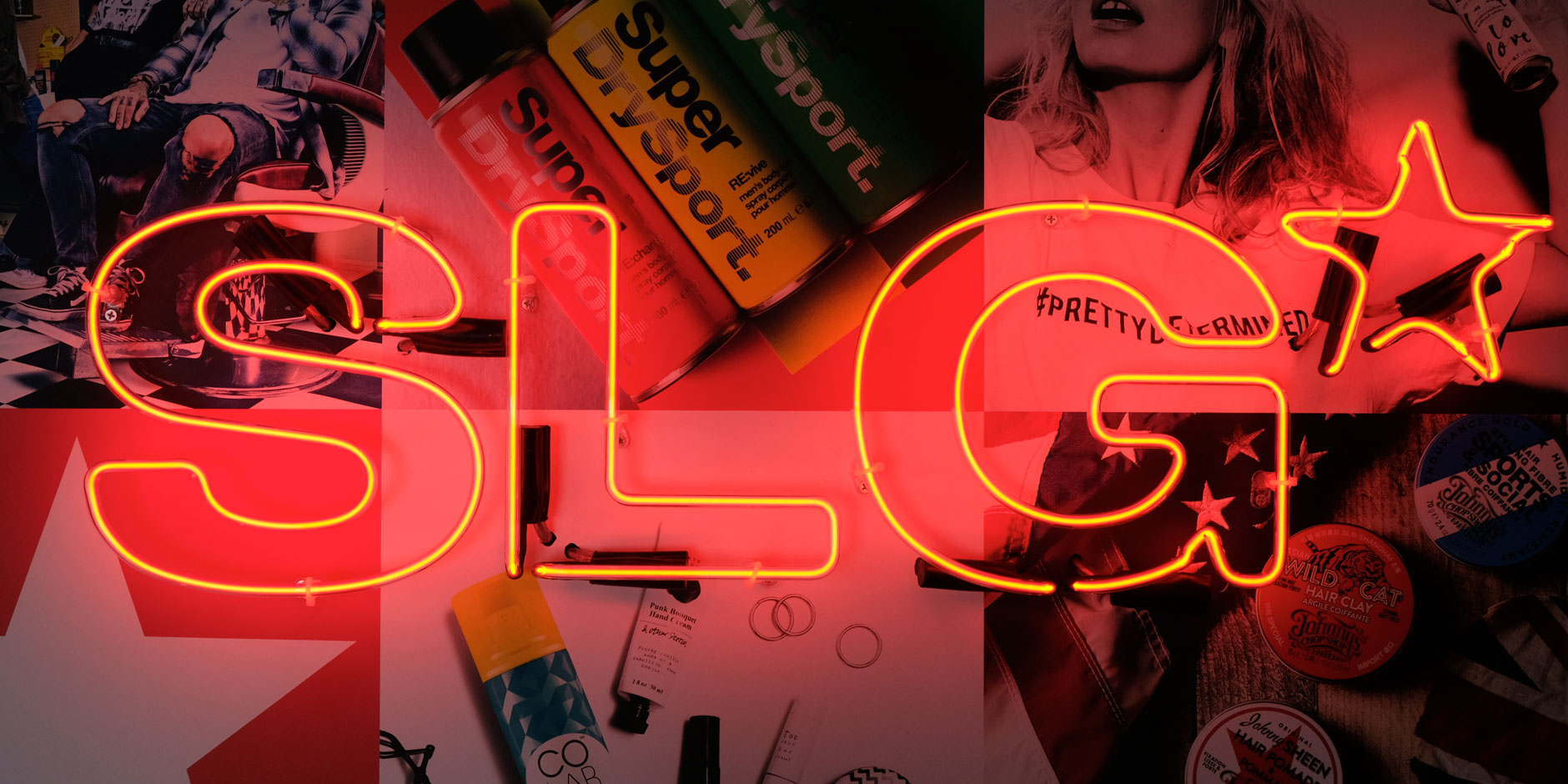 SLG Neon Sign