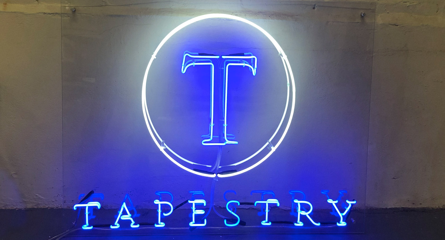 Tapestry Neon Sign