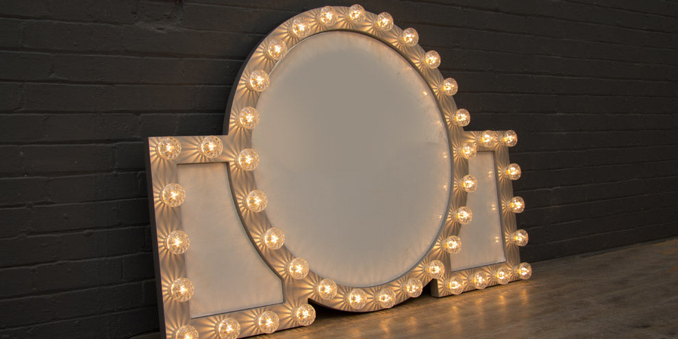 Theatre Light up mirror