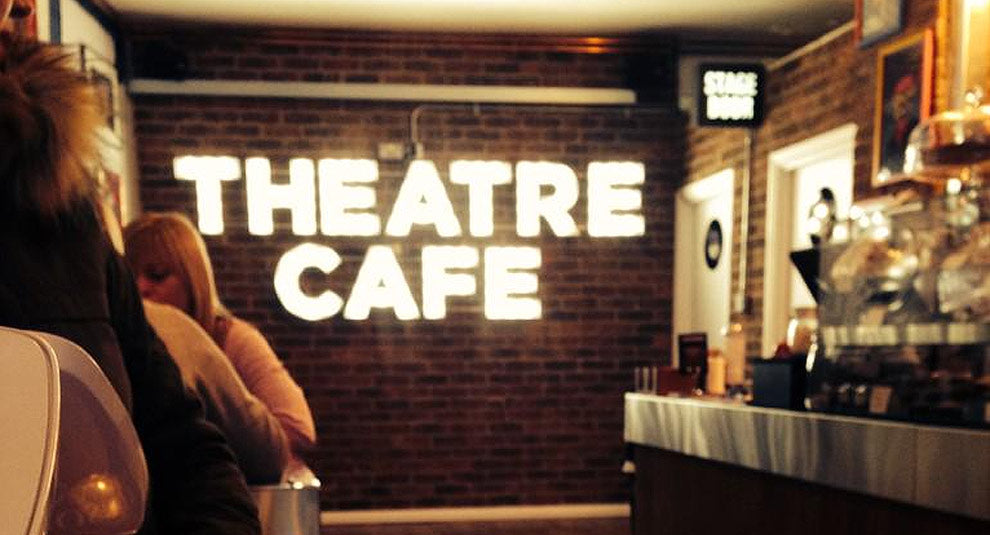 Theatre Cafe Sign