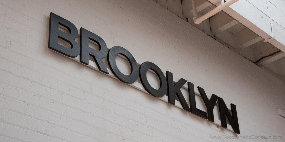 Brooklyn Timber Sign