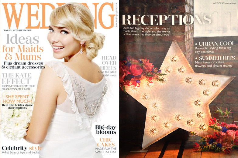 Wedding Magazine - Light up Star