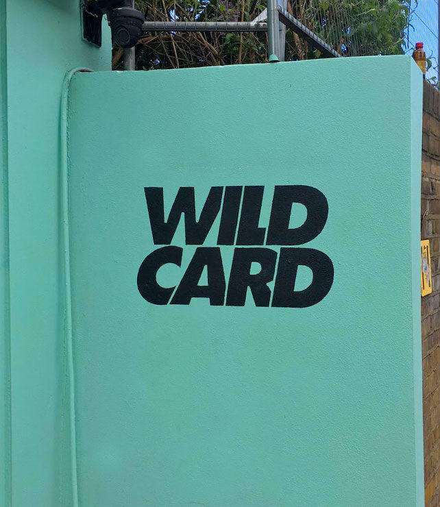 Wildcard Painted Wall Sign