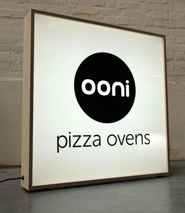 Plywood Light box