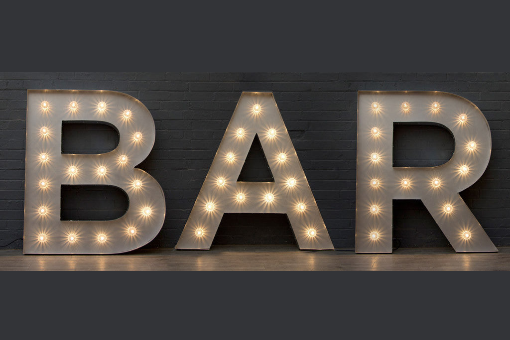 Bar light up letters hire london goodwin goodwin london sign v aloadofball Image collections
