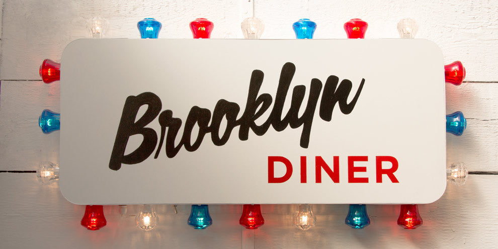 Diner Light Sign