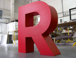 Giant Letters