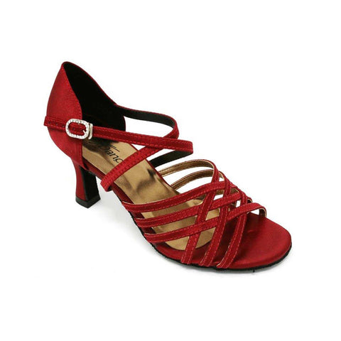 So Danca Cross Strap Satin Ballroom Sandal BL-178