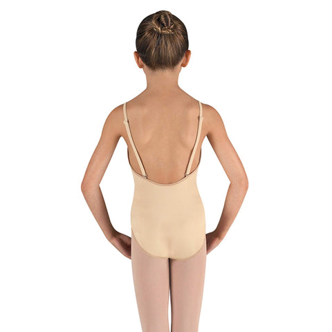 Bloch Nude Girl's Under Garment With Adjustable Straps CL3167