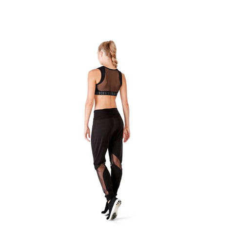 Bloch Harem Pant With Sheer Panels FP5017