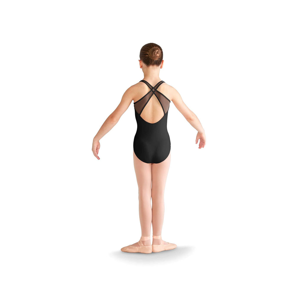 Mirella Children's Cross Back Tank Leotard M355C