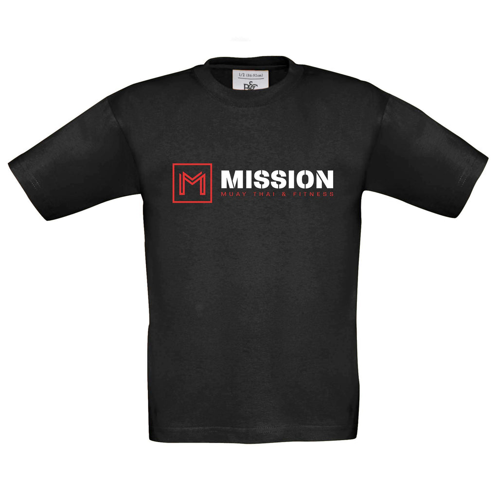 Mission Children's Black T-Shirt