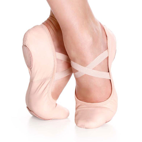 SoDanca Leather Stretch Ballet Shoe SD60
