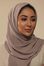 Mellow Mocha Everyday Chiffon Hijab