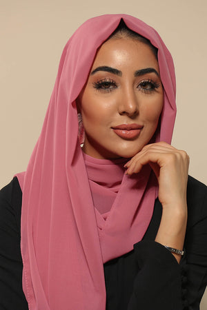 Dusty Rose Everyday Chiffon Hijab