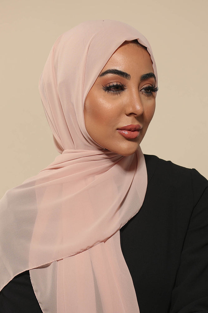 Dusty Nude Everyday Chiffon Hijab