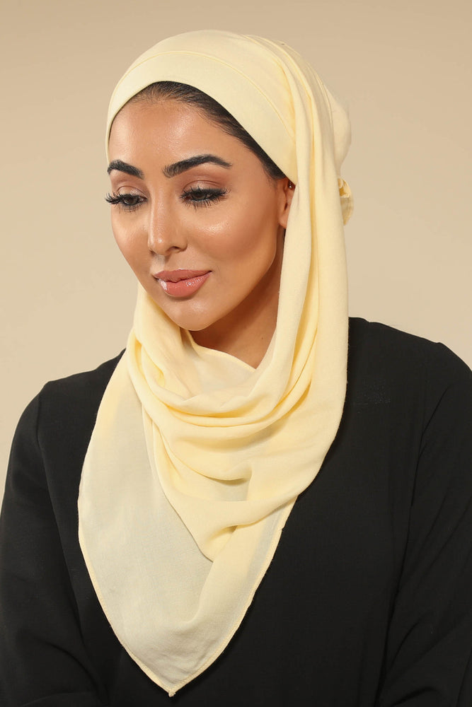 Cream Viscose Hijab