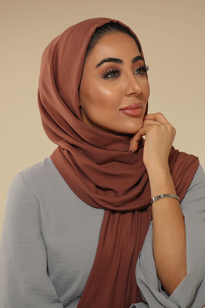 Coffee Viscose Hijab